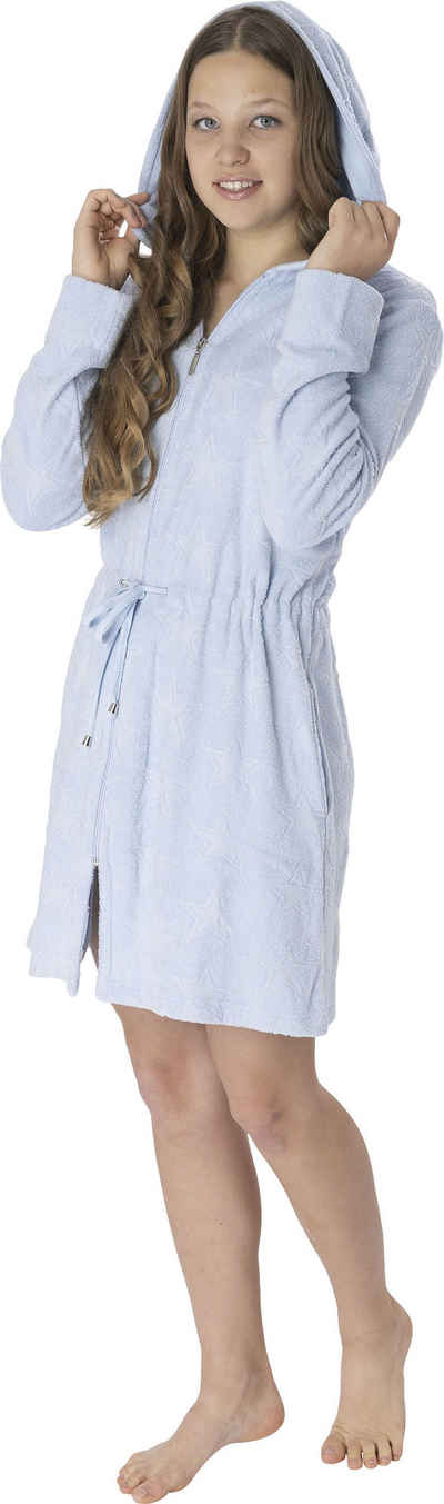 Damenbademantel »6025«, Wewo fashion, mit Tunnelzug zum Binden