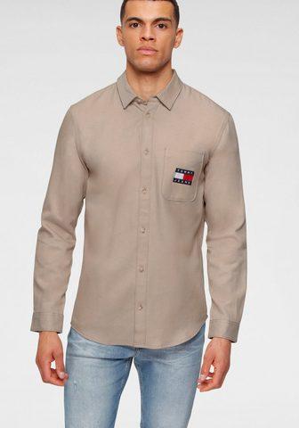 Tommy Jeans Tommy Džinsai marškiniai ilgomis ranko...