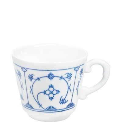 Kahla Tasse »Blau Saks 0,18 l«, Porzellan, von Hand dekoriert