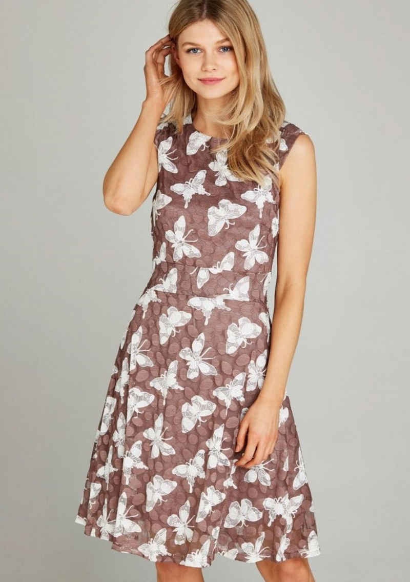 Apricot Meshkleid »Dot Mesh A-Line Dress« (1-tlg) mit Schmetterlingsspitze