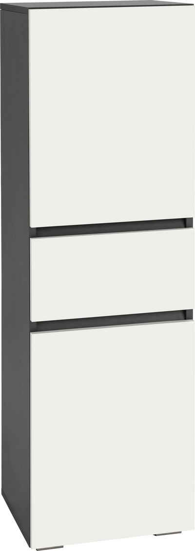 Home affaire Midischrank »Wisla« Höhe 130 cm, mit Türen & Schubkasten