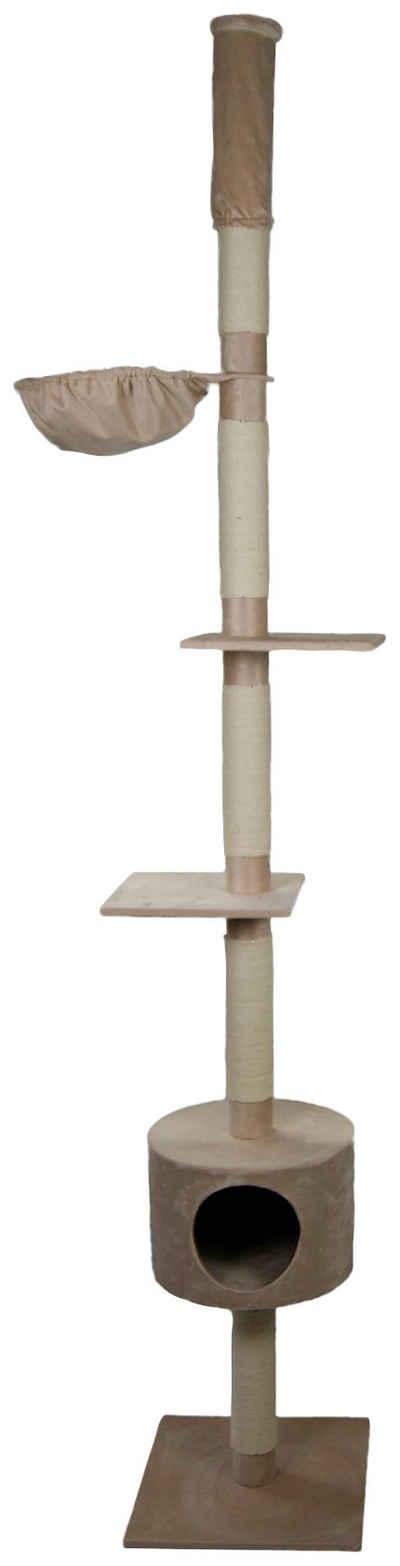 SILVIO design Kratzbaum »Katzenbaum Abakus beige«, BxHxT: 50x50x230 cm