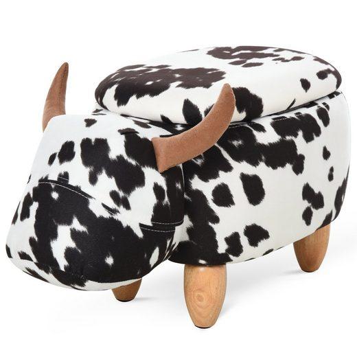 HOMCOM Hocker »Kinderhocker im Kuh Design«