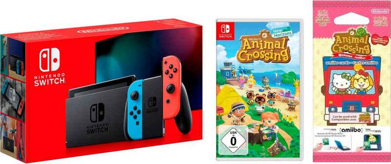 Nintendo Switch, inkl. Animal Crossing New Horizons