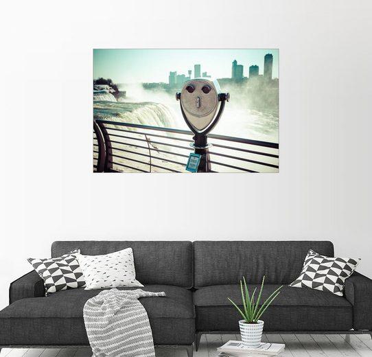 Posterlounge Wandbild, Ausblick auf die Niagarafälle