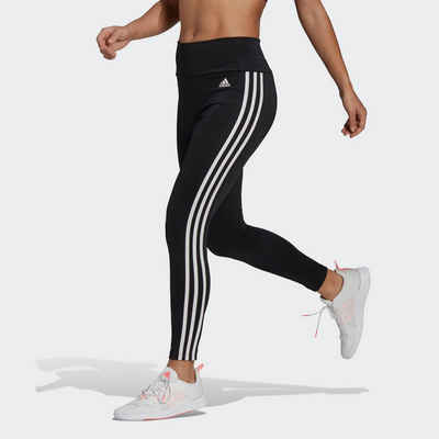 adidas Performance Funktionstights »HIGH RISE 3-STRIPES 7/8 TIGHTS«
