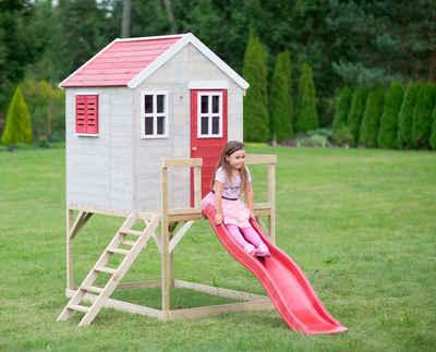 Wendi Toys Spielturm »Wendi Toys Tiger«, BxTxH: 197x310x242 cm