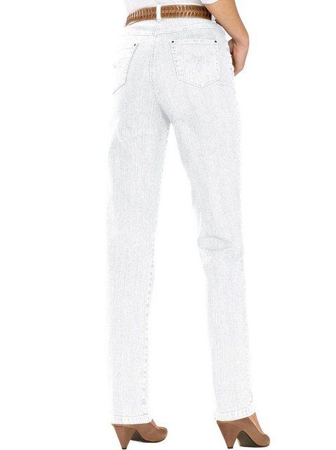 Hosen - Casual Looks 5 Pocket Jeans › weiß  - Onlineshop OTTO