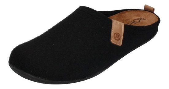 Rohde »TIVOLI-H 6920-90« Hausschuh Black