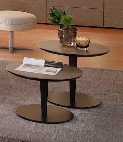 Villeroy & Boch Couchtisch »AMARA«, mit runder Keramik-Tischplatte, Höhe 36 cm