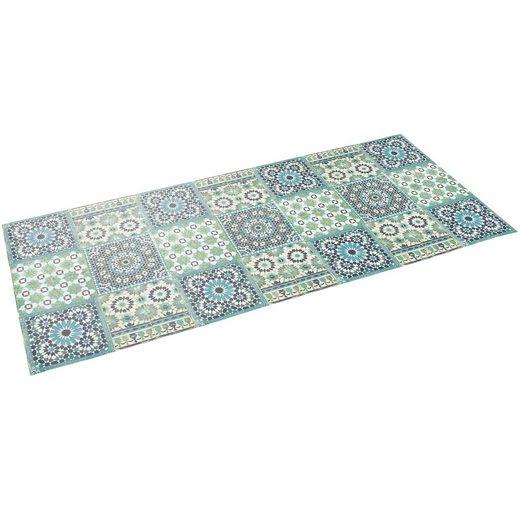 Küchenläufer »Vinyl Teppich Küchenläufer Evora Mosaik«, Pergamon, Höhe 5 mm