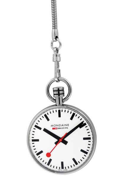 MONDAINE Taschenuhr »Official Swiss Railways Watch - die Offizielle Schweizer Bahnhofsuhr«