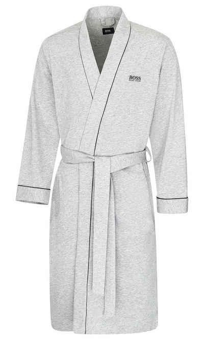 Morgenmantel »Kimono BM«, Boss, mit kontrastfarbenen Paspeln
