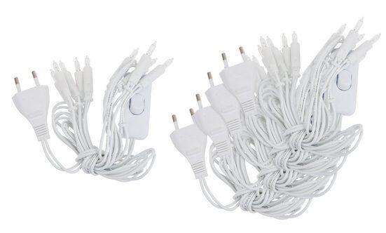 HobbyFun Lichterkette »10er«, mit Schalter, 5 Stück
