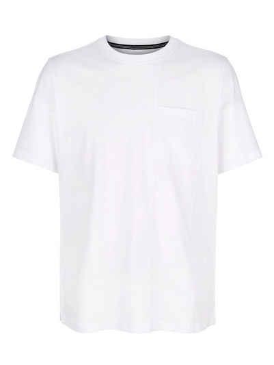 Roger Kent T-Shirt mit modischer Teilungsnaht