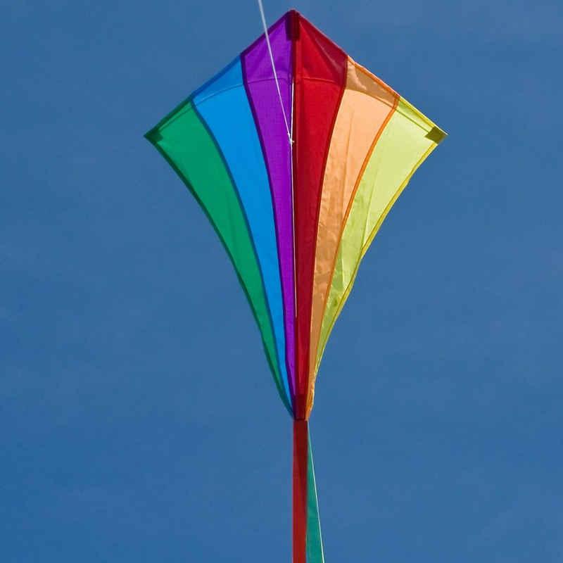 HQ Flug-Drache »Drachen Line Eddy Rainbow 70cm«