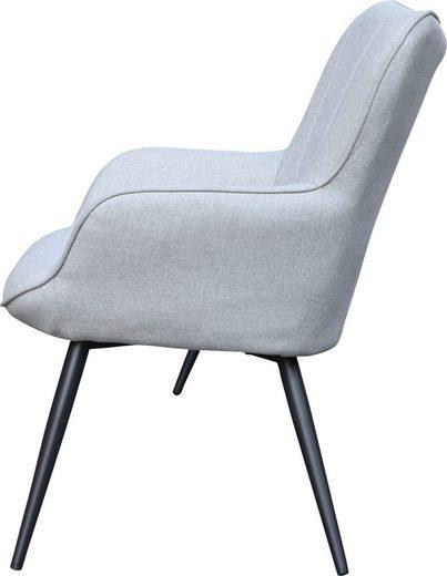 Homexperts Sessel »Lexi« (1-tlg)  Sessel mit Ziernaht im Rücken