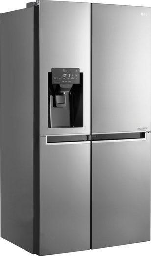 LG Side-by-Side GSJ761PZZZ, 179 cm hoch, 91,2 cm breit, Door-in-Door