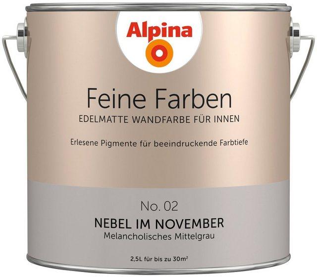 Alpina Feine Farben Nebel im November, grau