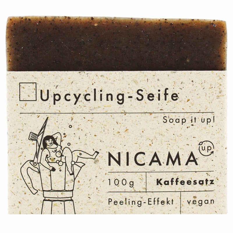 NICAMA Gesichtsseife »Upcyclingseife mit Kaffeesatz«