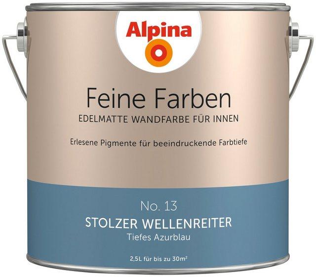 Alpina Feine Farben Stolzer Wellenreiter, blau