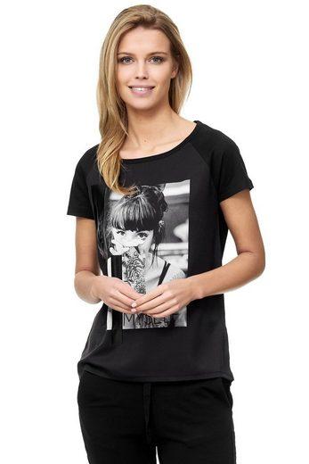 Decay T-Shirt mit großem Foto Print 3915759