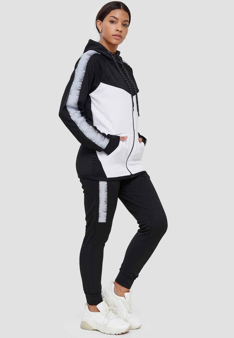 John Kayna Jogginganzug »Damen Jogginganzug, Streetwear, Fitness, Sporta« (2-tlg), Unisex
