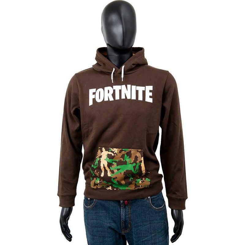 Fortnite Sweatshirt »Hoodie Kids Logo Brown 176cm«