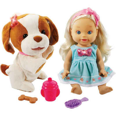 Vtech® Babypuppe »Little Love - Lea mit Hündchen«