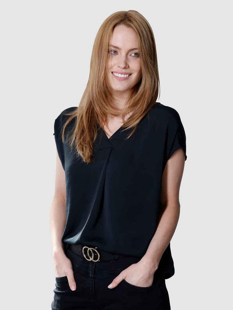Laura Kent Shirtbluse in bequemer Schlupfform