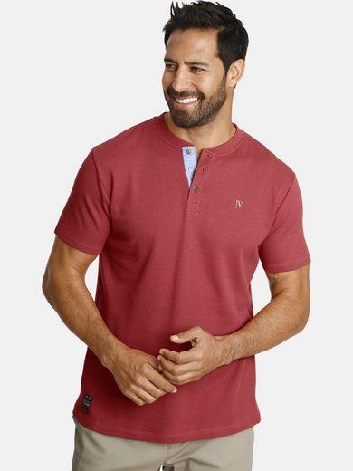 Jan Vanderstorm T-Shirt »REYK« aus strukturiertem Material