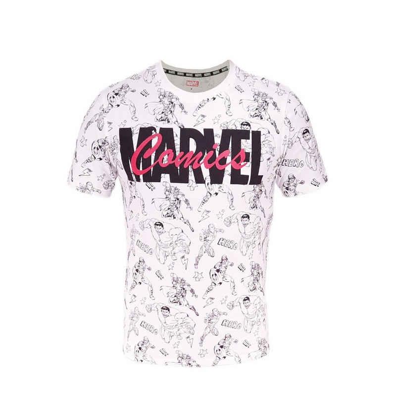 MARVEL T-Shirt »Comics Männer Shirt« 100% Baumwolle, M bis XXL