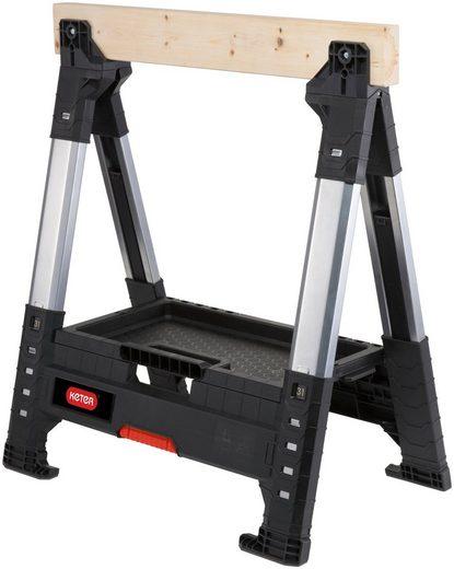 Keter Sägebock »ROC Lumber Jack«, 1360 kg max. Belastbarkeit, höhenverstellbar, 1.360 kg Traglast