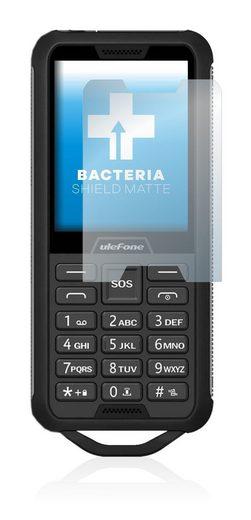 upscreen Schutzfolie »für Ulefone Armor Mini 2«, Folie Schutzfolie matt entspiegelt antibakteriell