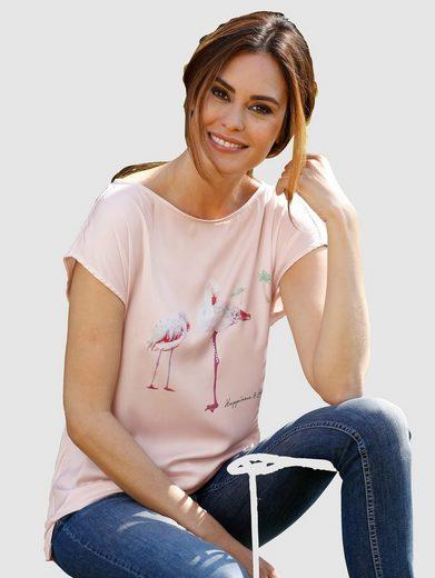 Laura Kent Shirtbluse mit schönem Druckmotiv