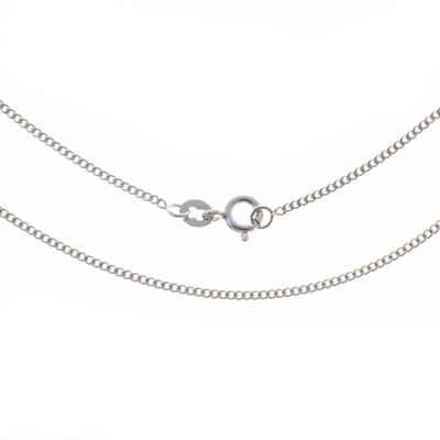 Bella Carina Silberkette »Panzerkette Silberkette rhodiniert 1,4 mm«, 925 Silber rhodiniert