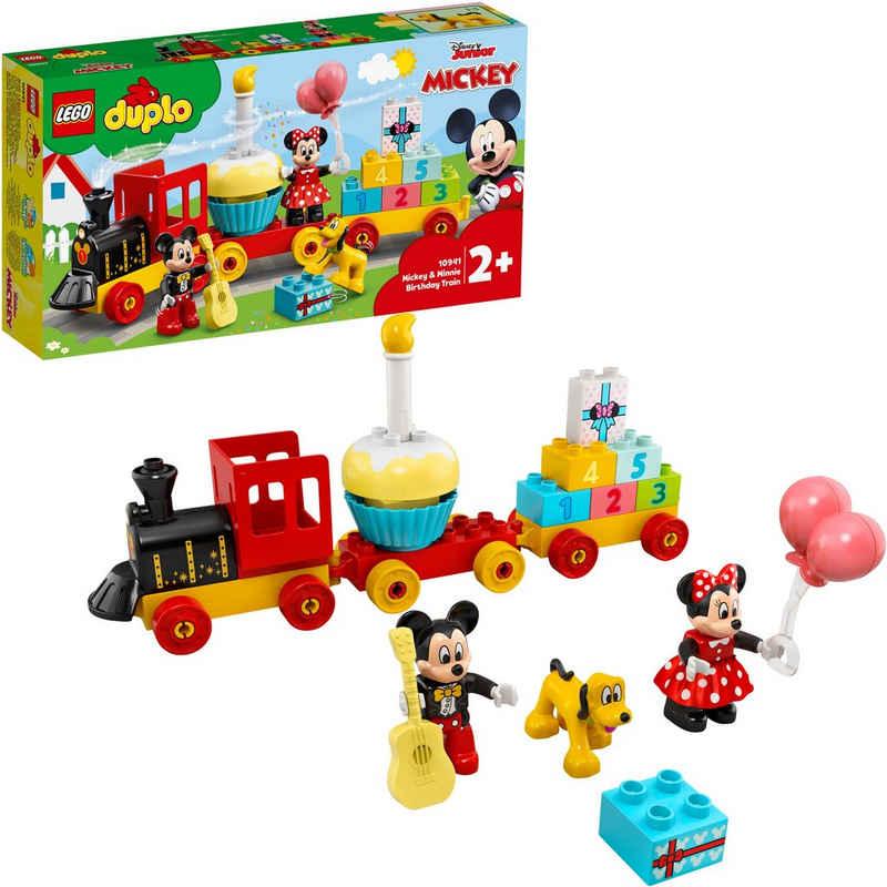 LEGO® Konstruktionsspielsteine »Mickys und Minnies Geburtstagszug (10941), LEGO® DUPLO® Disney™«, (22 St), Made in Europe