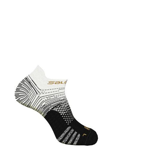 Salomon Socken (1-Paar) mit reflektierendem Garn