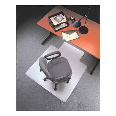Otto Office Bodenschutzmatte, rechteckig mit Lippe, für mittelflorigen Teppichboden