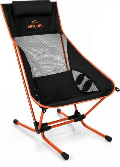 normani Campingstuhl »Campingstuhl Witchai«, Ultraleichter Strandstuhl Beachchair bis 150 kg Outdoorstuhl - EXTREM kleines Packmaß