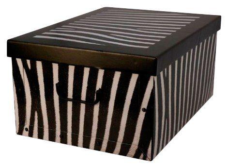 Kreher Aufbewahrungsbox »Zebra«