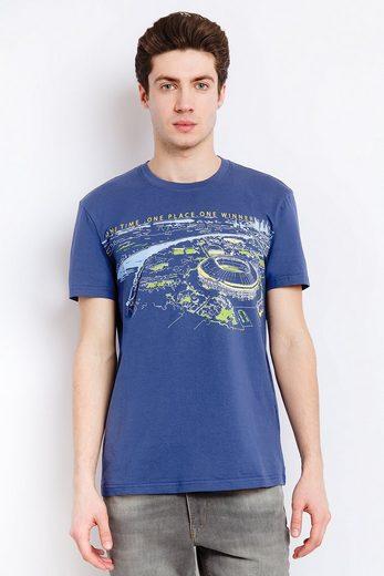 Finn Flare T-Shirt mit coolem Print