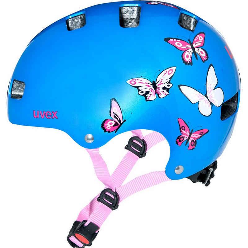 Uvex Kinderfahrradhelm »Fahrradhelm kid 3 butterfly Gr. 55-58,«