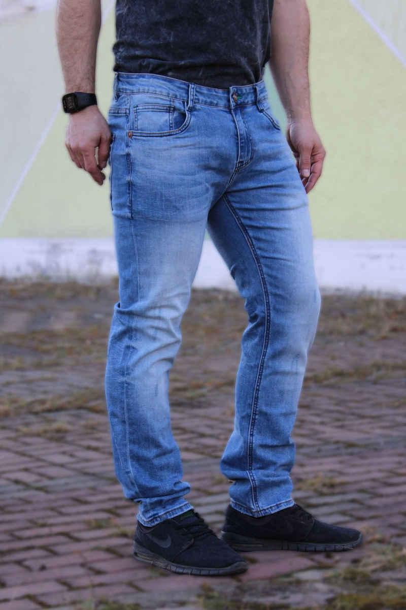 Blue Monkey 5-Pocket-Jeans »David«