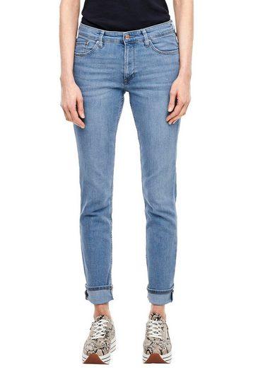 s.Oliver Slim-fit-Jeans »Betsy« in Basic 5-Pocket Form
