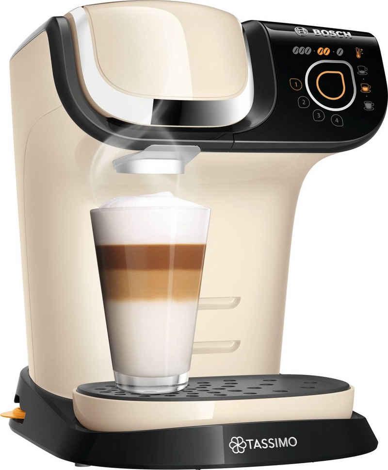 TASSIMO Kapselmaschine MY WAY 2 TAS6507, Kaffeemaschine by Bosch, creme, mit Wasserfilter, über 70 Getränke, Personalisierung