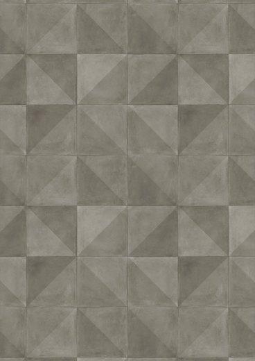 ANDIAMO Packung: Vinylboden »Kura«, Breite 200 cm, Meterware, Dekorfliesen-Optik