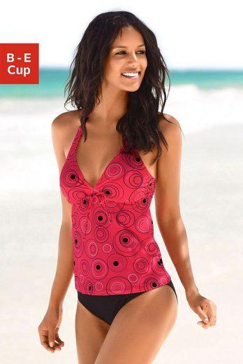 s.Oliver Beachwear Bügel-Tankini mit schönem Druckdesign