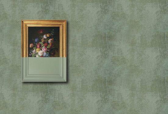 LIVINGWALLS Fototapete »Walls by Patel Frame 3«, Premium Vlies