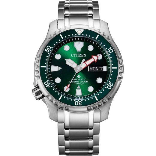 Citizen Automatikuhr »NY0100-50XE«, Promaster Marine Mechanical Diver